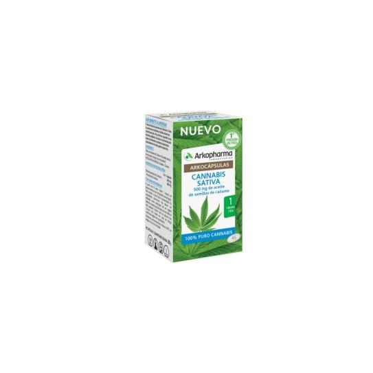 Arkopharma Cannabis Sativa 45 Cápsulas