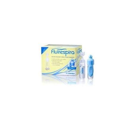 Fluirespira Solución Fisiológica 30 Viales Monodosis de 5 ml